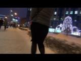 SUPER MEGA SEXy Girl !!! BIG POPA !!! MINI SKIRT !!! Очень сексуальная девушка в короткой юбке и с очень ШИКарными формами !!!