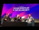 Cate Blanchett Julian Rosefeldt at the 61st BFI 2017.10