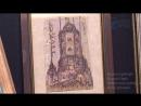Выставка Форточка в Европу петербургского художника и реставратора Яна Антонышева. Сюжет от 18.12.2017