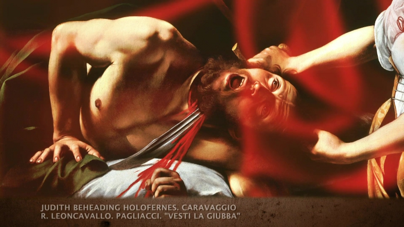 11.Микеланджело Меризи да Караваджо-Юдифь и Олоферн (1599)