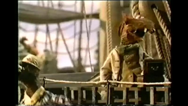 Со съёмок Острова сокровищ маппетов (1996) (2)