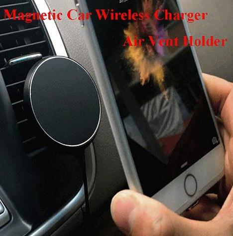 Магнитные держатели с беспроводной зарядкой