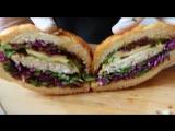 Бургер «Атлантическая fisk'a» в кафе «Наше место»