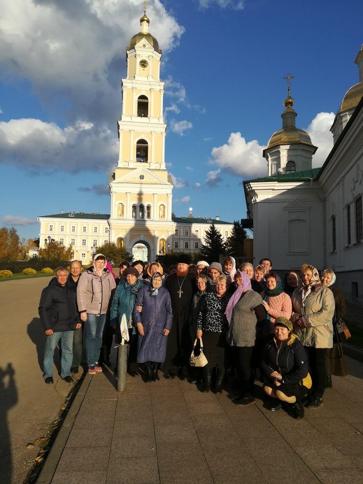 Благотворительная поездка в Дивеево для членов Дзержинского отделения Всероссийского общества слепых.