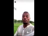 Patrice Evra, Instagram hesabından Galatasaray taraftarına teşekkür etti