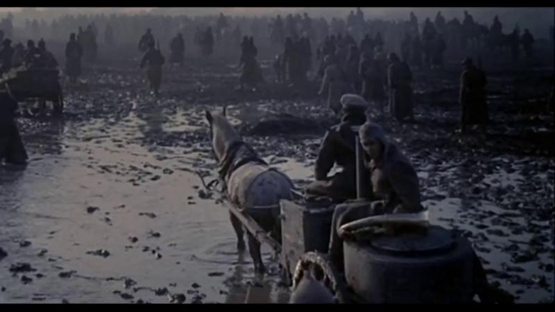 «Бег» (1 серия)  1970  Режиссеры: Александр Алов, Владимир Наумов   экранизация