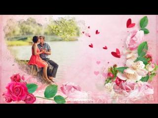С Днём святого Валентина. Валентинка. Видео из фото на заказ.