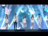 Jihyo (TWICE), Rose (BLACKPINK), Sungjae (BTOB), Jaehwan (Wanna One), Yuju (GFriend) - Butterfly (рус. караоке)