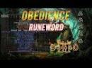 Epic Runewords Diablo 2 Obedience Ep 2