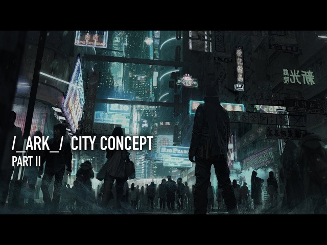 ARK City Concept Part II: 3D Model and Render