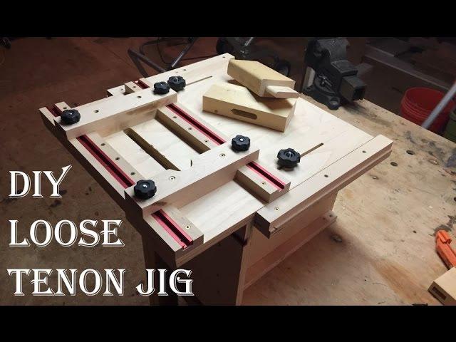 DIY loose tenon router jig