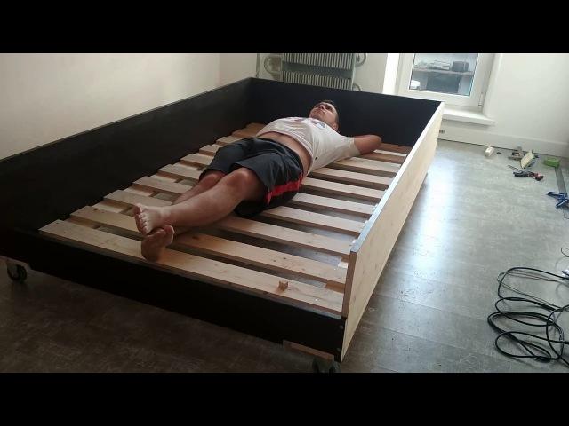 ВлогКостелло 010: подиум-кровать. Часть 1: кровать.