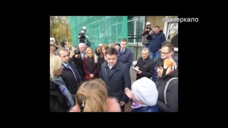 Андрей Воробьев выслушал мнение жителей относительно мусоросжигающего завода