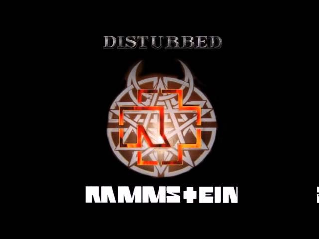 Rammstein Disturbed - Mein Stricken Herz Brennt (Rammsturbed Mashup by The Night Hunter)