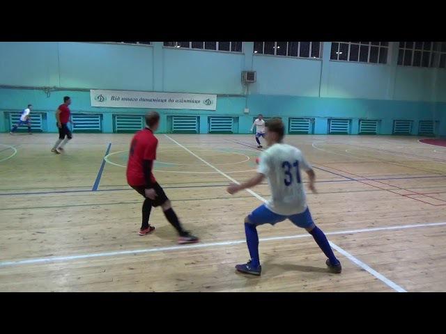 11 й тур Высшей Лиги г Запорожье по мини футболу Прайд ЗЛМЗ 2 1
