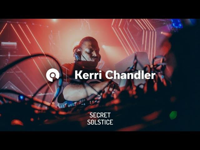 Kerri Chandler @ Secret Solstice 2017 - CircoLoco Stage (BE-AT.TV)