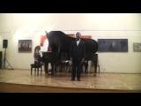 Сергей Санаторов, Алиса Калина (фортепиано) А. Варламов для чего летишь, соловушка, к садам