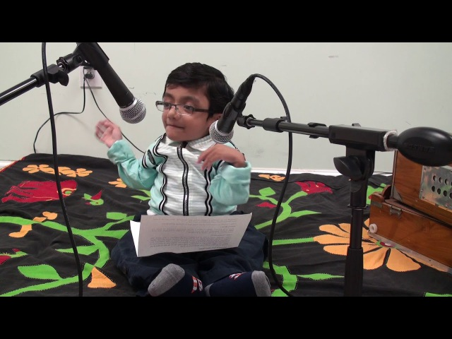 Sparsh Shah's first speech about music 7 years ago