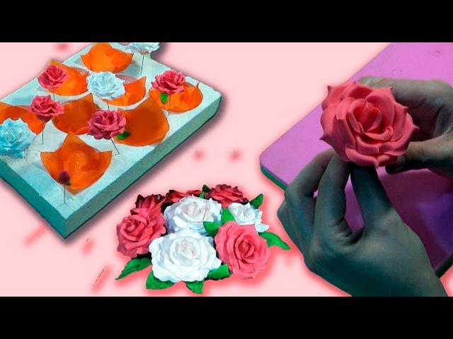 Роза из мастики. Сушилка для цветов / Rose of mastic. Dryer for flower - Я - ТОРТодел!