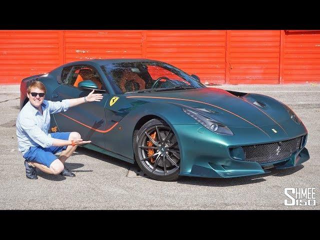 My Friend's NEW Ferrari F12tdf is the FINAL ONE!