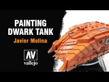 Painting Dwarf tank with vallejo Mecha Colors