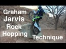 How to Cross a Rock/Log like Graham Jarvis He shows us how!!