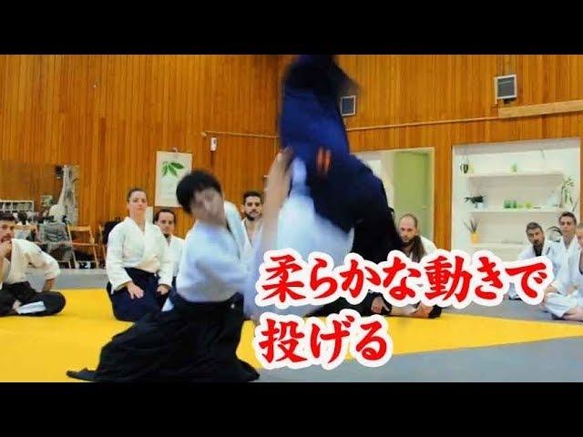 合気道‐手を合わせて柔らかく投げる Aikido Throwing softly without grabbing