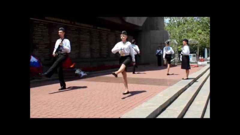 Смена караула - Почетная вахта на Посту № 1 г.Севастополь - 2017