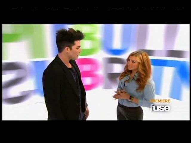 HQ FUSE ADAM LAMBERT Interview Top 20 Countdown 13.02.2012 wmv