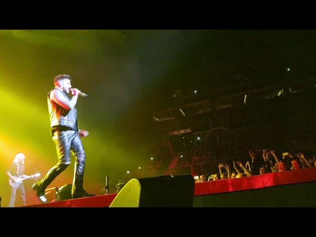 Queen Adam Lambert – Get Down, Make Love/I Want It All – Budapest, Hungary, 04.11.2017