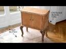 Как задекорировать старый прикроватный столик?
