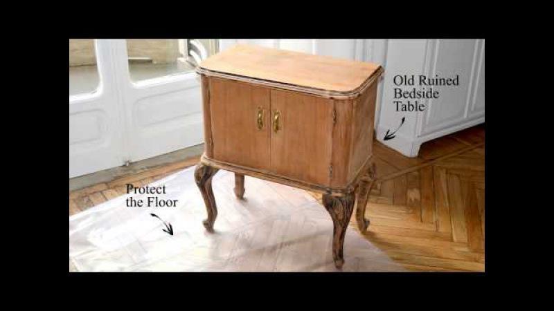 Как задекорировать старую тумбочку? » Freewka.com - Смотреть онлайн в хорощем качестве