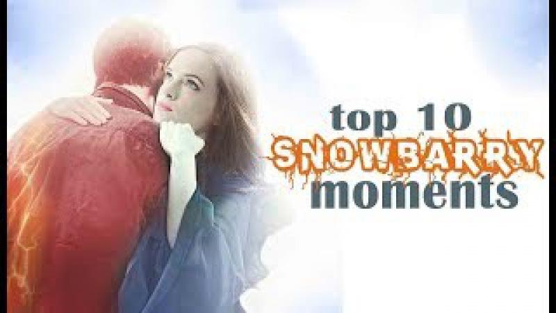 Top 10 SnowBarry Moments || Barry Caitlin (700)