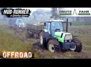 Spintires: MudRunner DEUTZ FAHR AGROSTAR 6.61 TRACTOR OFF-ROAD TEST