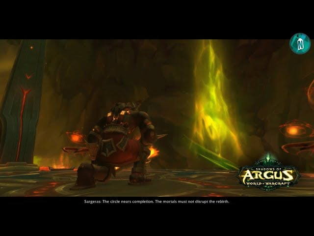 Aggramar's Rise - Cutscene Patch 7.3 Shadows of Argus