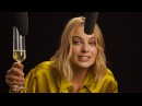 Margot Robbie Explores ASMR with Vegemite Champagne and High Heels Celebrity ASMR W Magazine