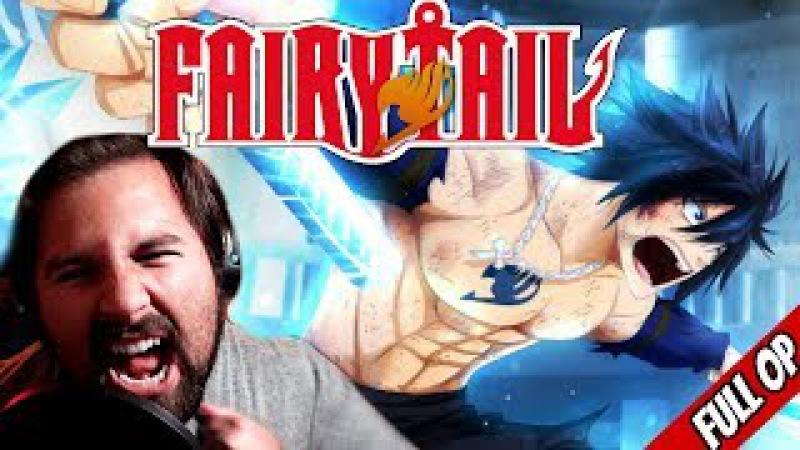 Fairy Tail OP - [ENGLISH] Strike Back (FULL Cover) - Caleb Hyles