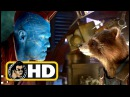 GUARDIANS OF THE GALAXY 2 (2017) Movie Clip - Yondu Rocket Fight |FULL HD| Stan Lee Cameo Marvel