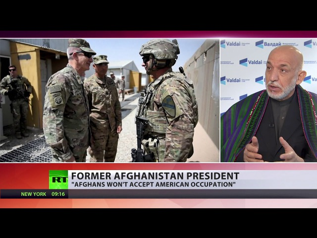 If US begins to behave as invader, Afghans would not accept occupation – ex-President Karzai