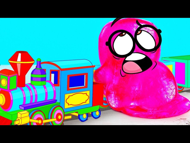Slick Slime Sam Makes MAGIC MAGNET TRAIN
