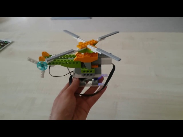 Helicopter with WeDo 2.0 Lego Education Project