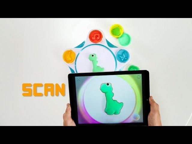 Набор-студия Создай мир Play-Doh Touch от Hasbro
