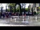 Новый фонтан шутиха в Петергофе
