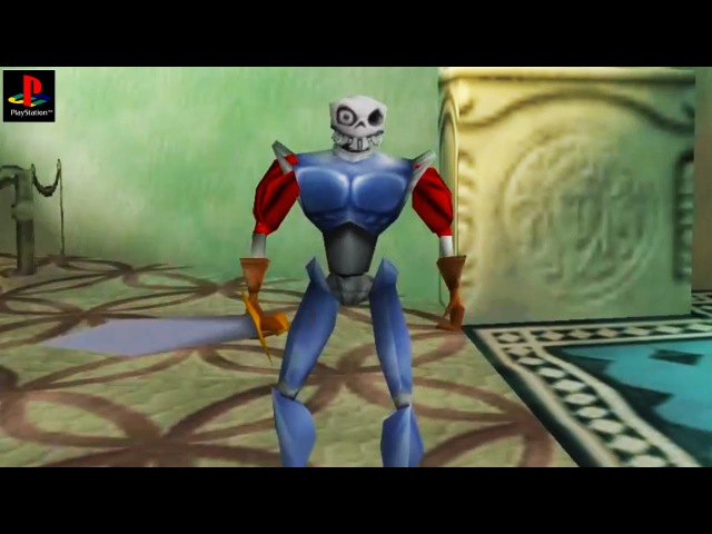 Medievil 2 - Gameplay PSX PS1 PS One HD 720P (Epsxe)