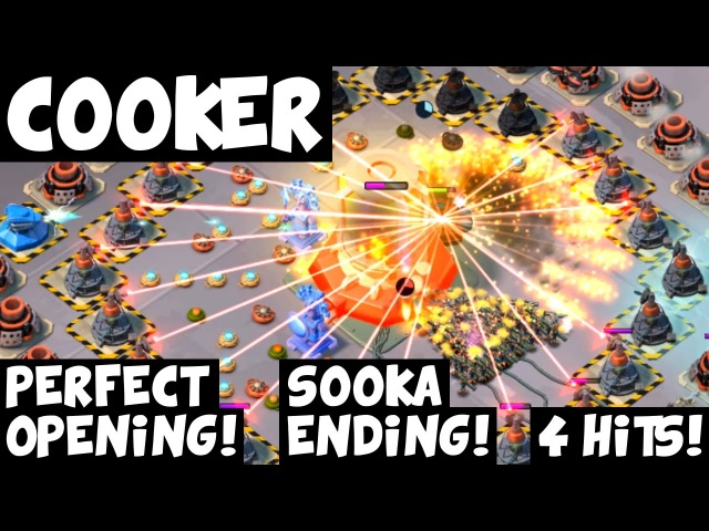 Cooker 4 Hits ✦ Perfect Opening Sooka Ending ✦ Forlorn Hope ✦ Boom Beach