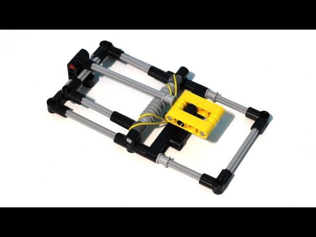 LEGO Technic Mousetrap Slow Motion