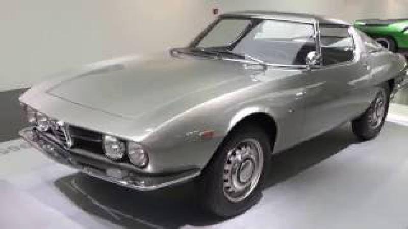 Alfa Romeo Giulia Sprint Speciale, Alfa Romeo Museum, Arese, Lombardy, Italy, Europe