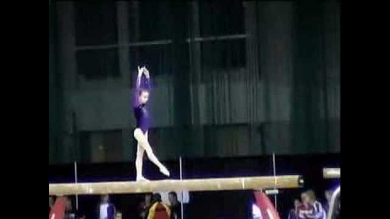 Anastasia Grishina. Balance Beam. 2008. Gymnix international