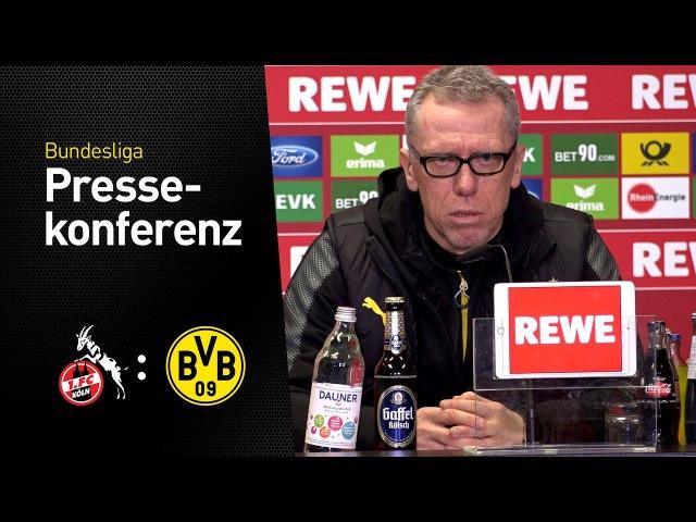 Wir haben immer eine Antwort parat gehabt! | Peter Stöger | 1. FC Köln - BVB