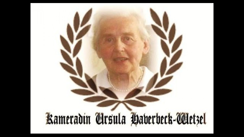 Ursula Haverbeck's Hooton Plan and Migrant Crisis